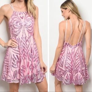 Dresses & Skirts - 🎉NWT🎉GORGEOUS SEQUIN PARTY DRESS
